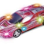 A colorful remote control toy racing car for 5 year old kids