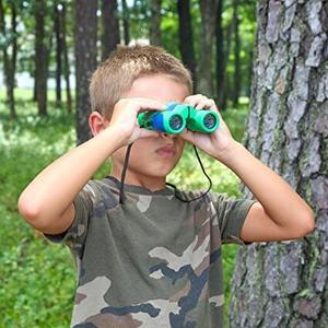 Kidwinz Shock Proof 8x21 Kids Binoculars Set
