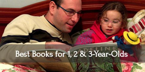 12 Best Books for Your 1, 2, & 3 Year Olds