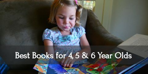 12 Best Books for Your 4, 5, & 6 Year Olds