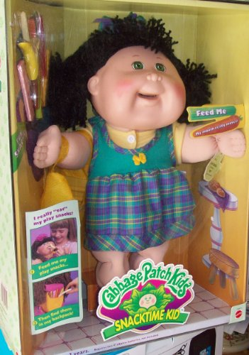 Snacktime Cabbage Patch Dolls