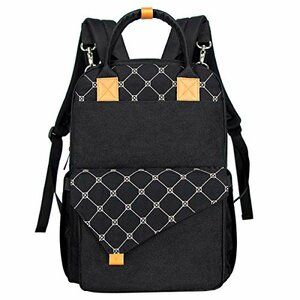 Hap Tim Diaper Backpack for Travel, Insulated Pockets