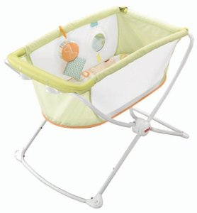 Fisher-Price Rock With Me Bassinet