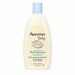 Aveeno Baby Wash And Shampoo