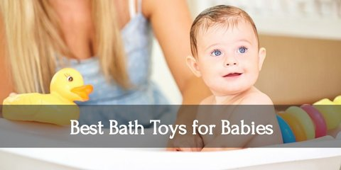 Top Baby Bath Toys to Play With