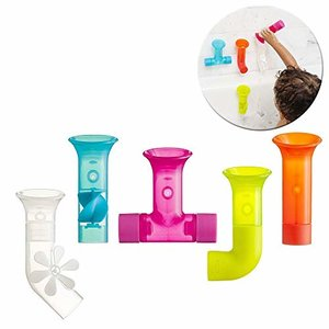 Boon Building Bath Pipes, 5 Pieces