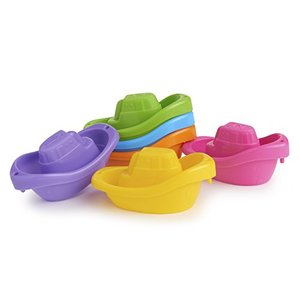 Munchkin Little Boat Train, 6 Pieces