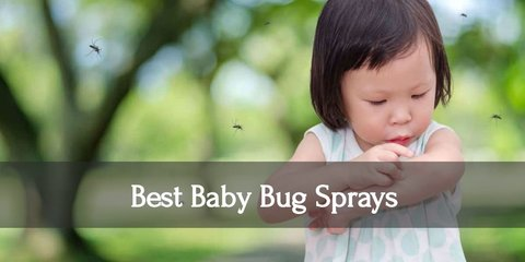 Don't be afraid to let your kids play outside all day. Take care of the pesky insect bites by putting on safe bug sprays on your babies. Discover which brands to get!