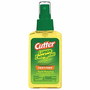 Cutter Lemon Bug Repellent Spray