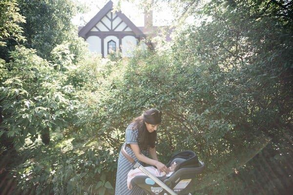 stroller garden