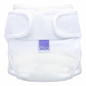 Bambino Mio Miosoft Cloth Diaper, White, Size 1