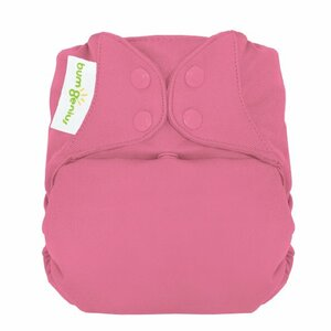 bumGenius Freetime All-in-One Snap Closure Cloth Diaper, Zinnia