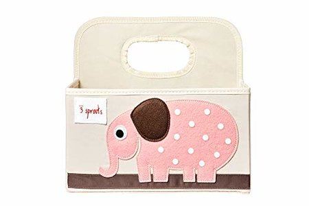 3 Sprouts Diaper Caddy - Elephant