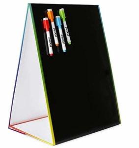 DasKid Table Top Magnetic Easel & Blackboard