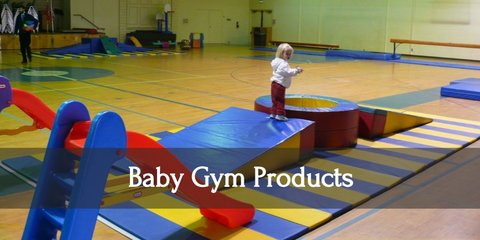 Get your baby moving and exercising before they can even walk. Baby gyms can be instrumental in early child development, so you should invest in one today!
