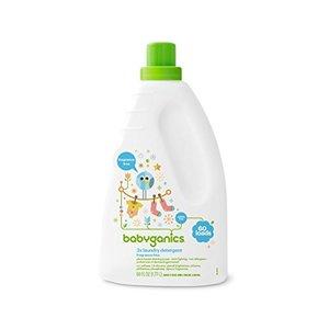 Babyganics Liquid Baby Laundry Detergent, Fragrance Free