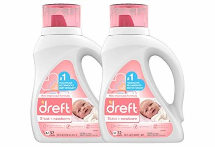 Dreft Stage 1: Newborn Hypoallergenic Liquid Baby Laundry Detergent