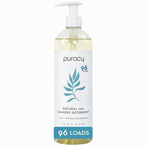 Puracy Natural Liquid Laundry Detergent, Free & Clear