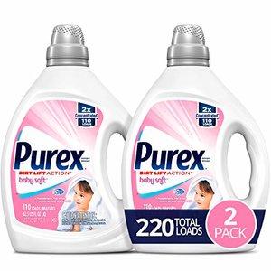 Purex Liquid Laundry Detergent, Baby Soft