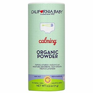 California Baby Organic Powder, Calming