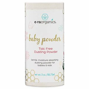 Era Organics USDA Baby Powder, Talc-Free