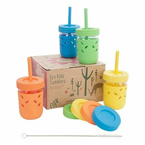Elk and Friends Spill-Proof Sippy Cups