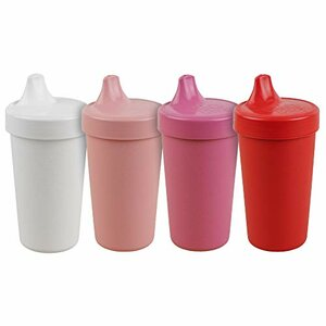 Re-Play No Spill Cups, Eco Friendly, 4 Pack