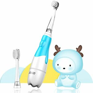 DADA-TECH Baby Electric Toothbrush, Smart LED Timer