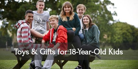 Celebrate this special year with awesome gifts for your eighteen-year-old!