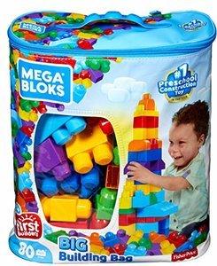 Mega Bloks 80-Piece Building Bag