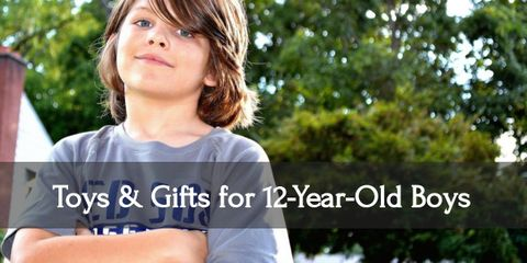 Excite your twelve year old boy with these awesome gifts!