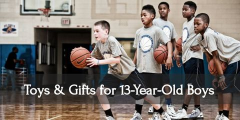 These gifts will make this year memorable for your thirteen year old boy!