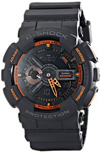 Casio Men GA-110TS-1A4 G-Shock Analog-Digital Watch