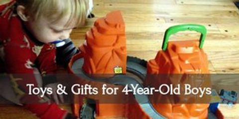 10 Best Toys & Gift Ideas for Four-Year-Old Boys