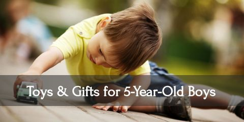 10 Best Toys & Gift Ideas for Five-Year-Old Boys