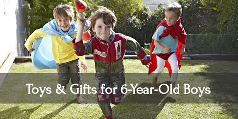 10 Best Toys & Gift Ideas for Six-Year-Old Boys