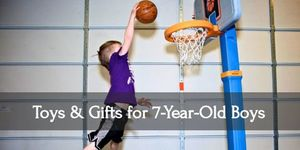 Be your seven year old boy's idol when you give him these gifts!