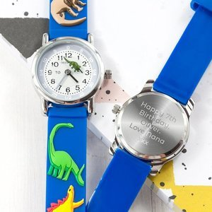 Kids Personalized Dinosaur Watch