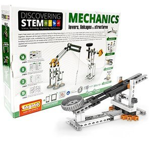 Engino Discover Stem: Levers, Linkages, & Structures Building Kit