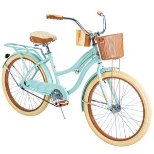 "Huffy 24"" Nel Lusso Girls' Cruiser Bike"
