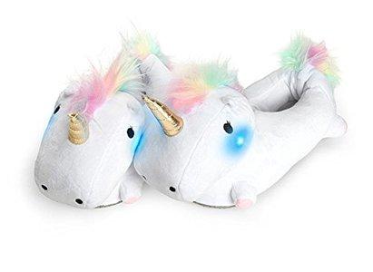 Smoko Light Up Unicorn Slippers