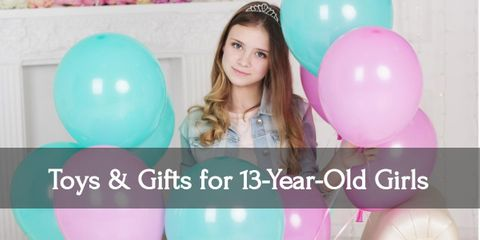 Fulfill your thirteen year old girl's glittery dreams with these gifts!