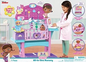 Disney Jr. Doc McStuffins Baby All in One Nursery
