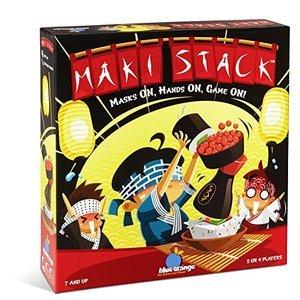 Blue Orange Maki Stack