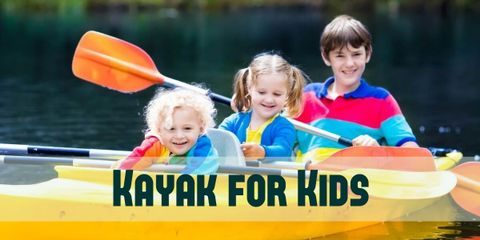 The Best 5 Kayaks for Kids With Paddles