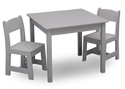 Delta Children MySize Kids Wood Table and Chair