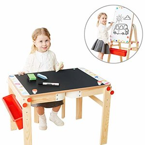 TOP BRIGHT Wooden Art Easel Table
