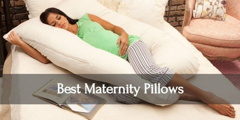 Aching backs and uncomfortable sleeping positions are part of every pregnancy. But that doesn't mean you need to torture yourself and endure them. Discover the best maternity pillows to buy for the best sleep you'll get while pregnant!