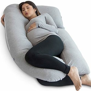 PharMeDoc Pregnancy Pillow, U-Shape Full-Body