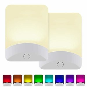 GE Color-Changing LED Night Light, 2 Pack